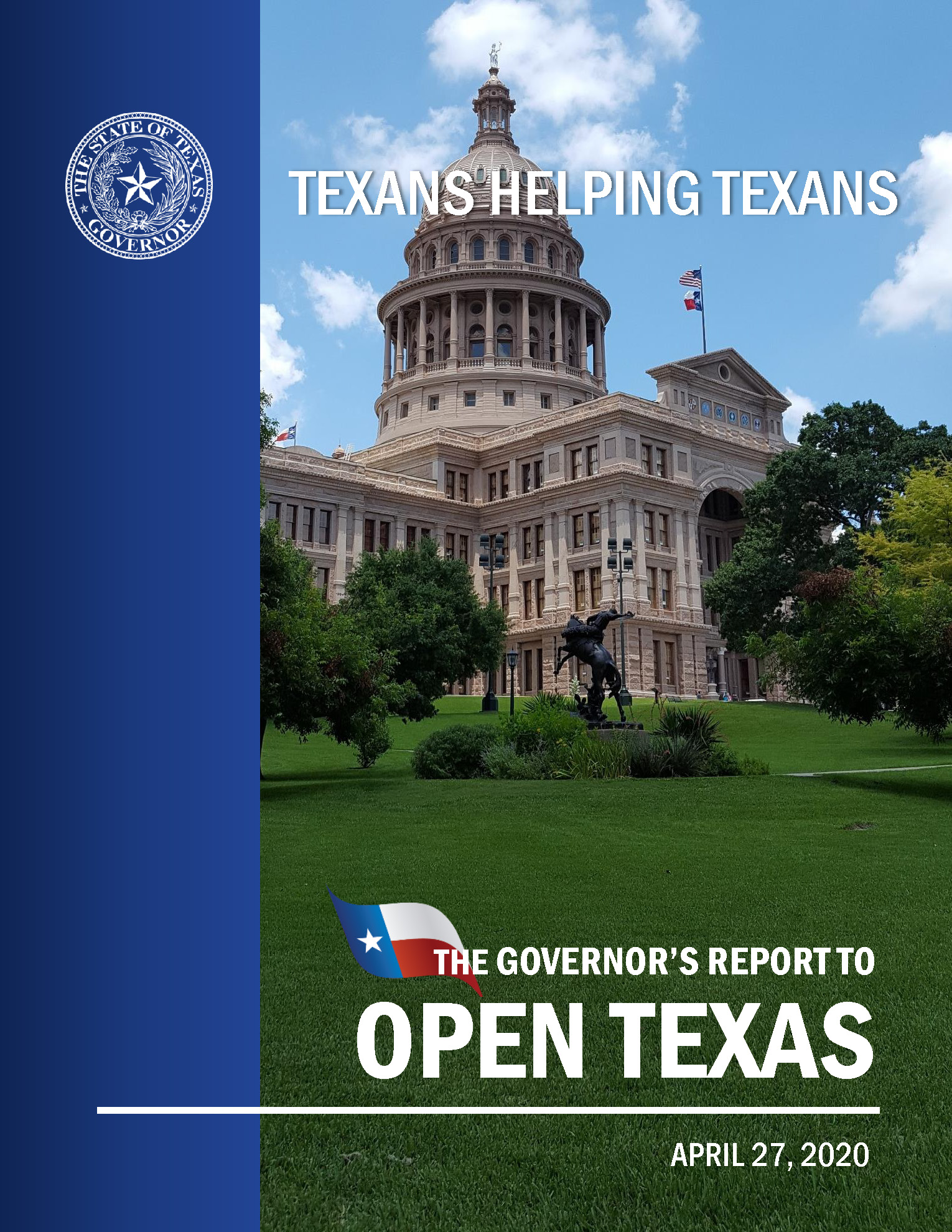 Governor Abbott Open Texas Page 01