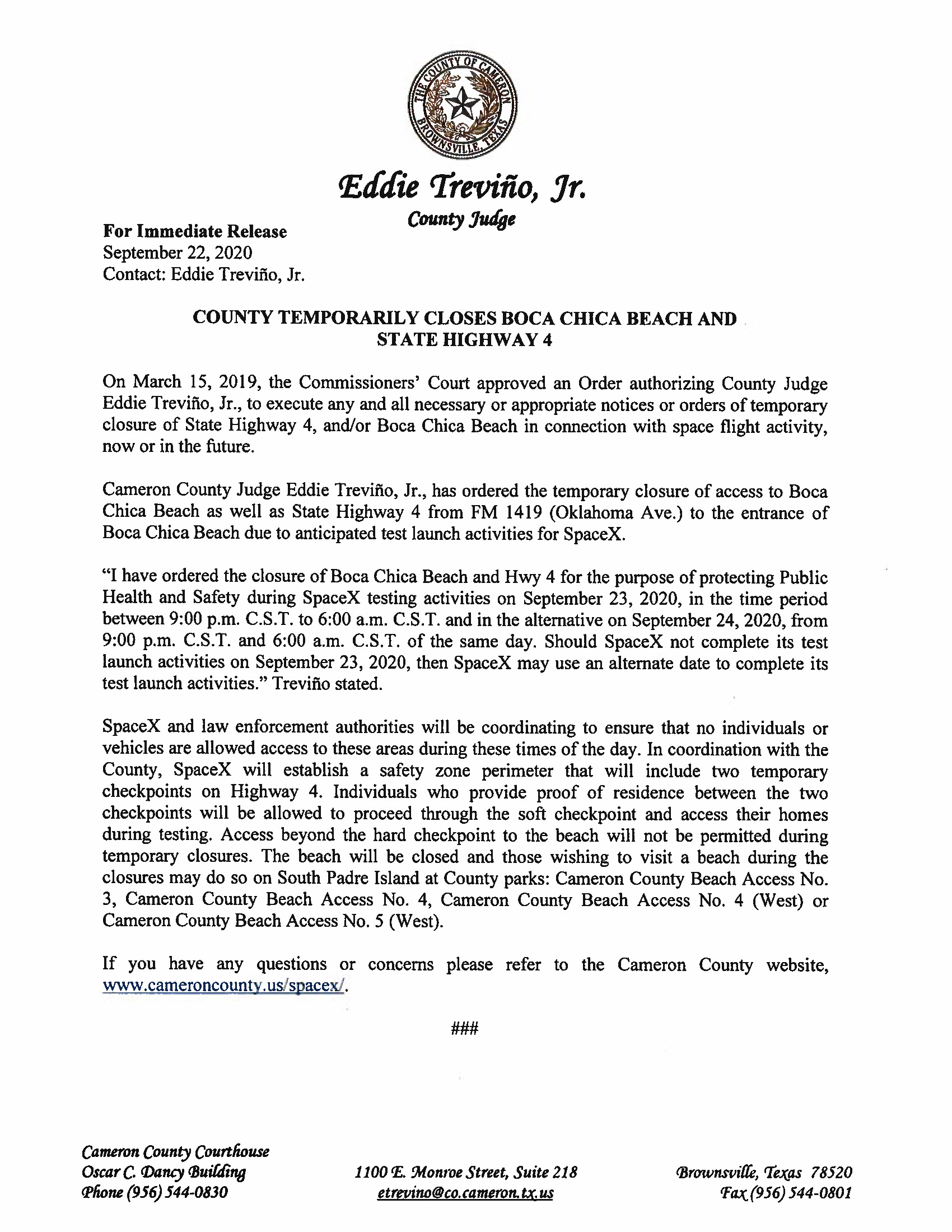 Press Release In English And Spanish 9.2324.2020 Page 1