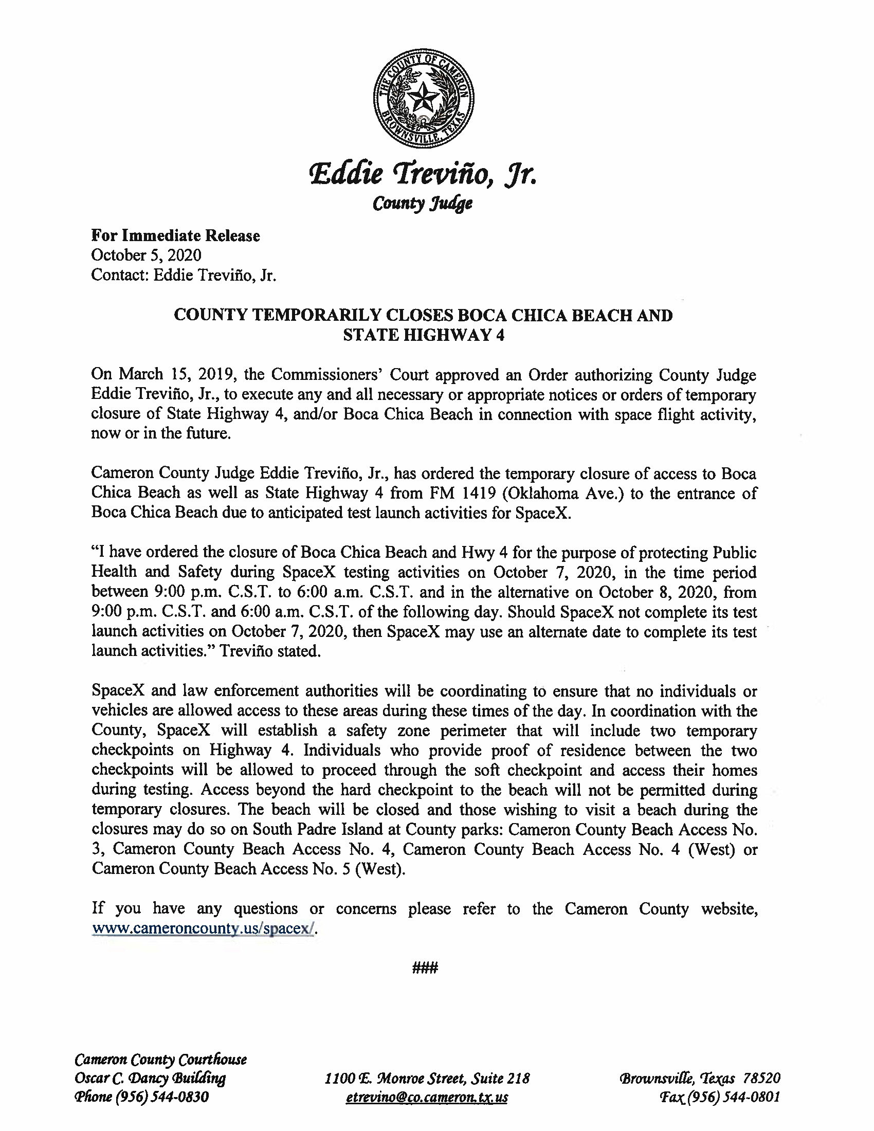 Press Release In English And Spanish.10.07.20 Page 1