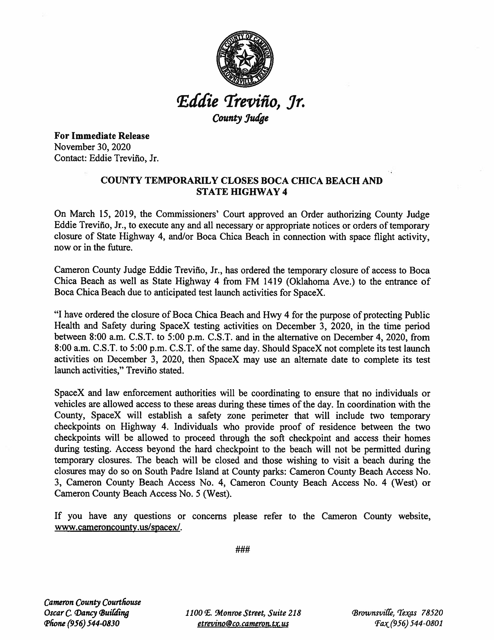 Press Release In English And Spanish.12.03.20 Page 1