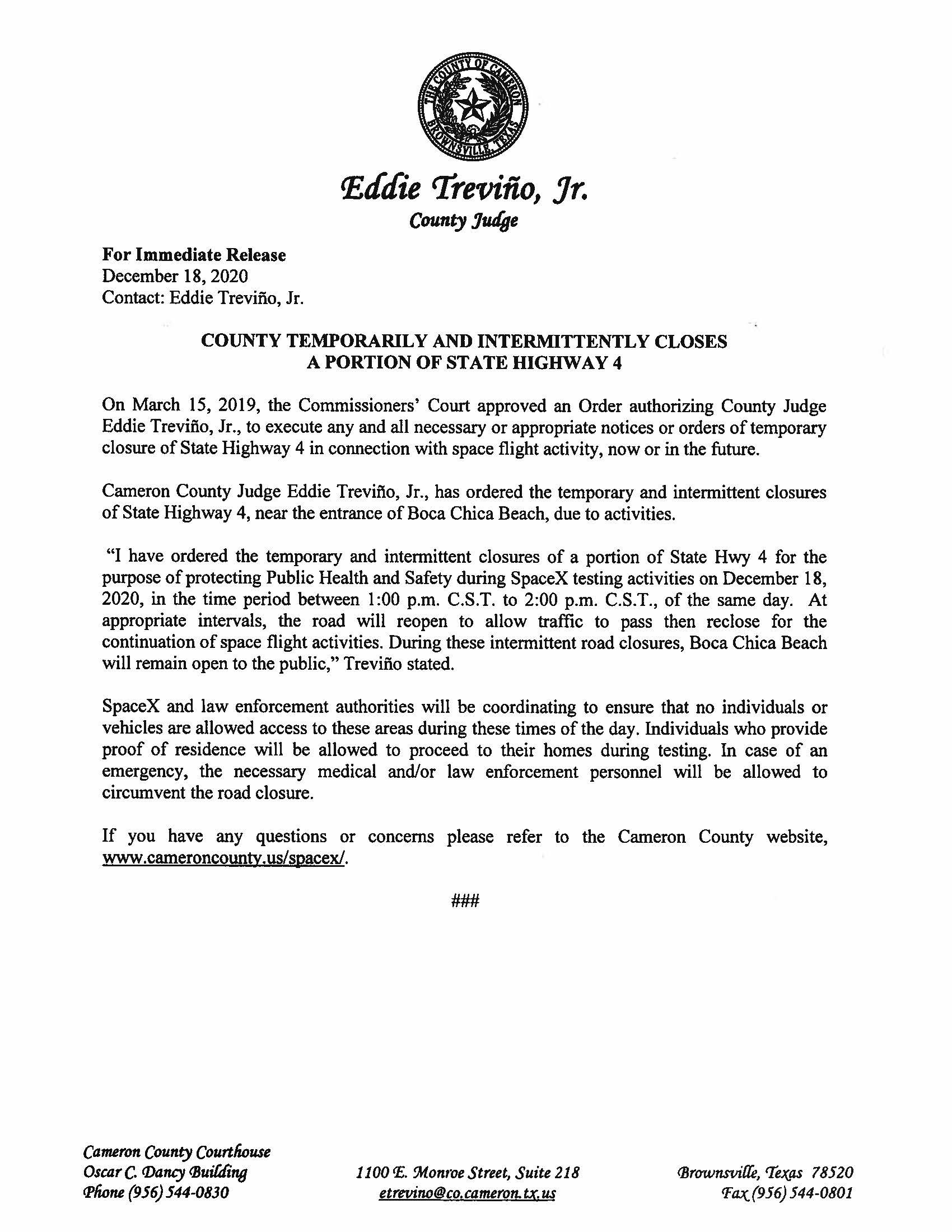 Press Release English And Spanish.12.18.20 Page 1