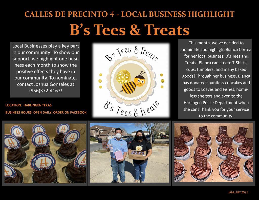 B's Tees and Treats