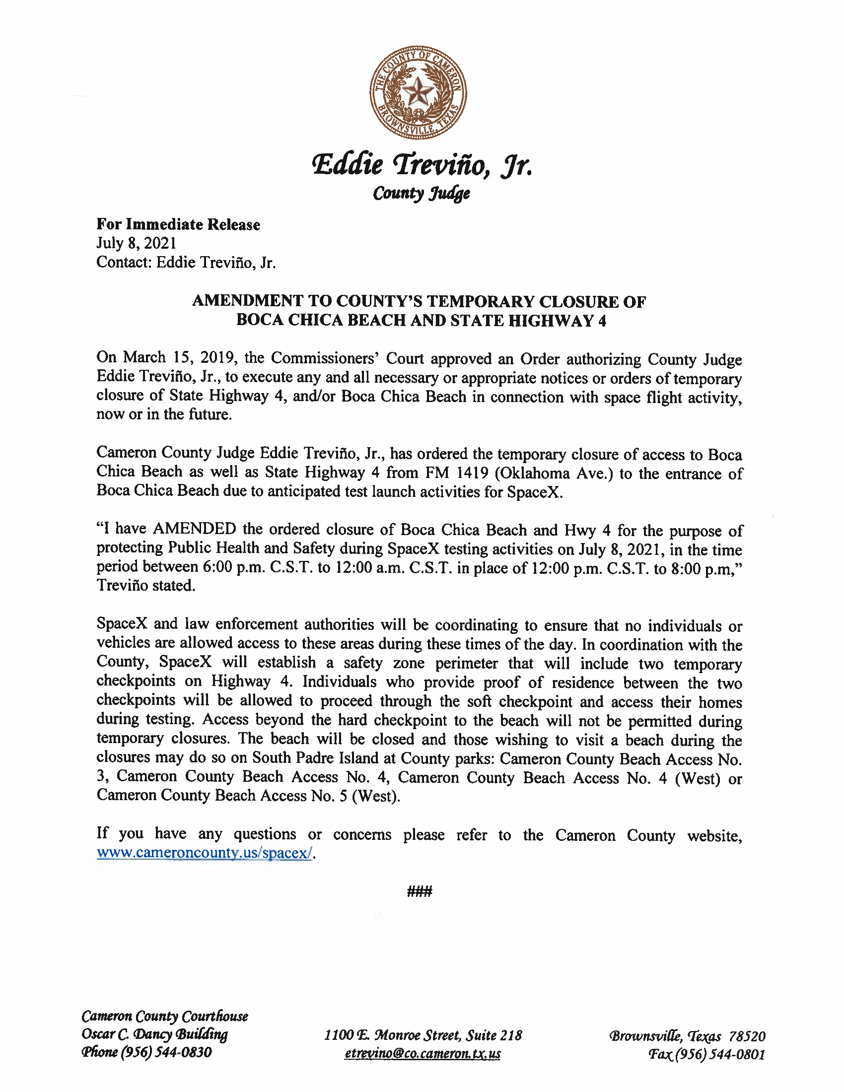 Press Release In English And Spanish.07.08.21 Page 1