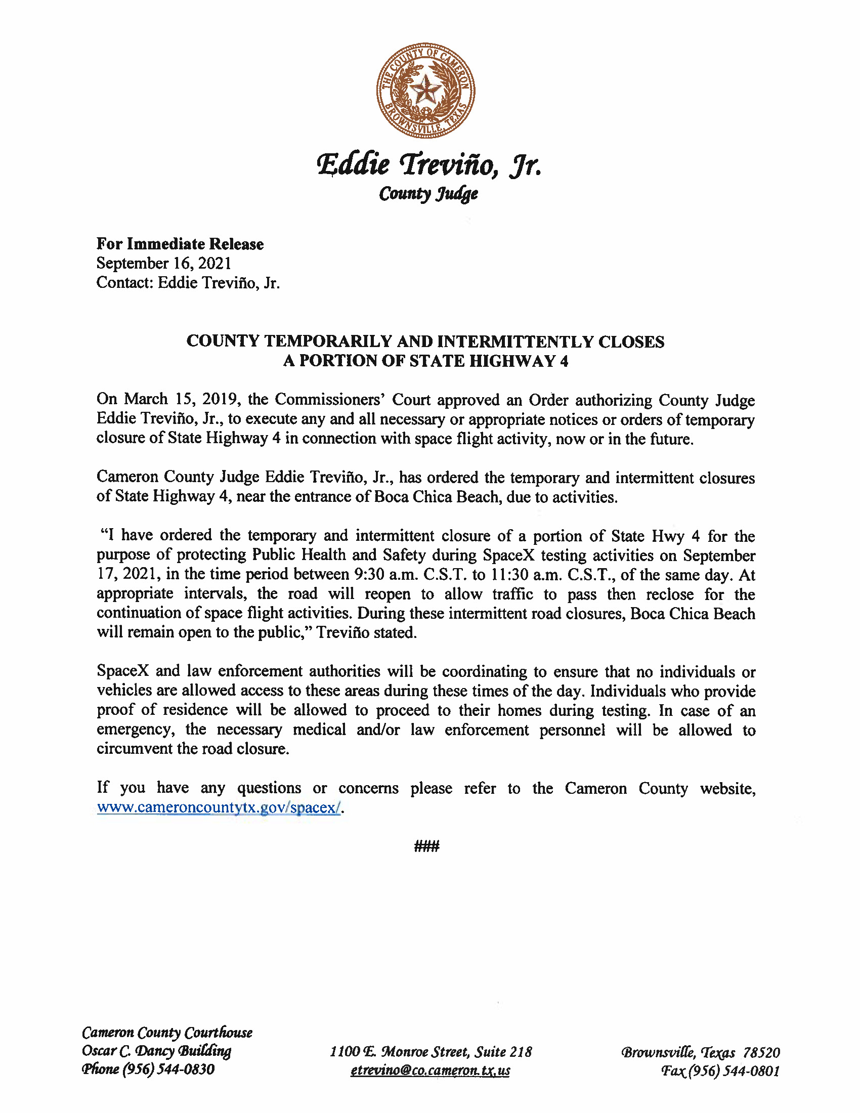 Press Release In English And Spanish.09.17.2021 Page 1 1